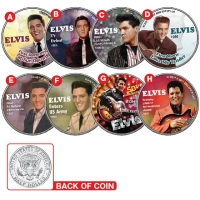 Elvis Collectable Coins