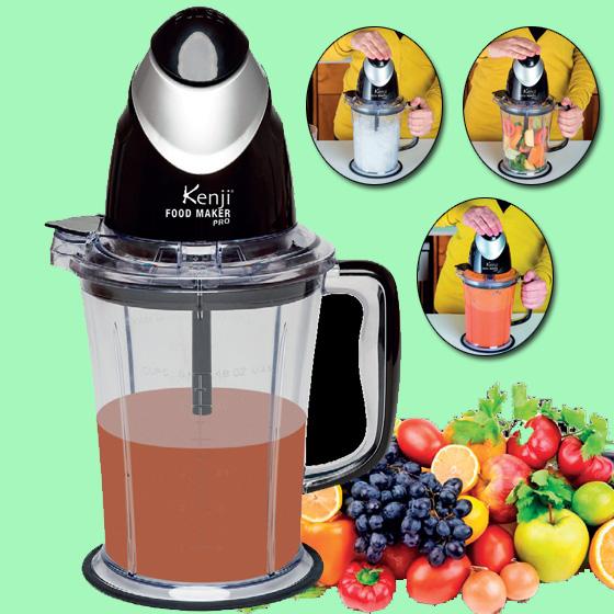 Health pride kenji food maker pro for Cuisine generator