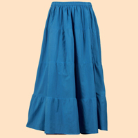 Solid Reversible Skirt