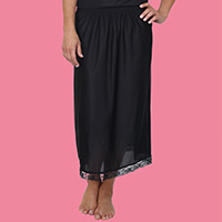 Anti Static Half Lace Slip