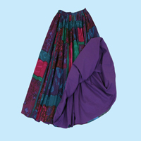 Patch Reversible Skirt